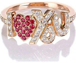 I Love You and ring image
