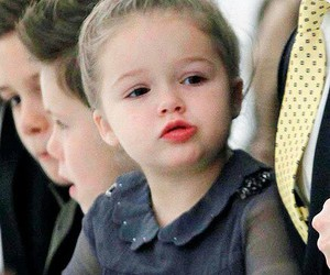harper beckham, cute, and baby image