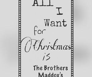 books, brothers, and christmas image