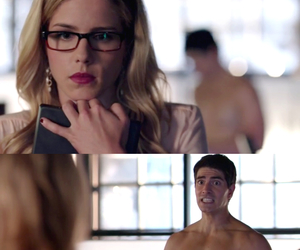 arrow, couple, and funny image