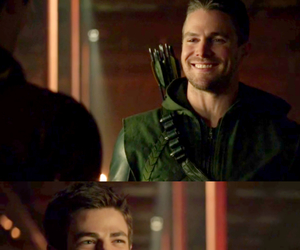 arrow, smile, and crossover image