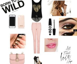 outfit, Polyvore, and wild image