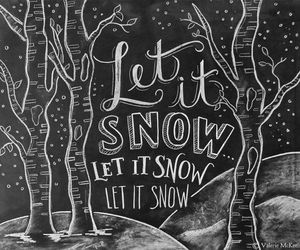 art, let, and snow image