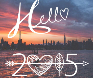2015, new year, and hello image