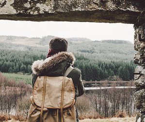 backpack, indie, and wanderlust image