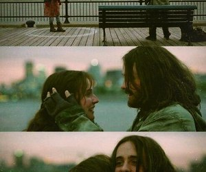boy, city, and hug image