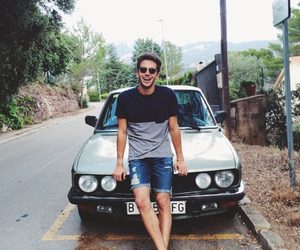boy, car, and guy image