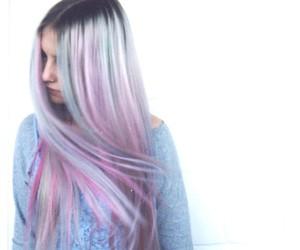 hair, colour, and fashion image