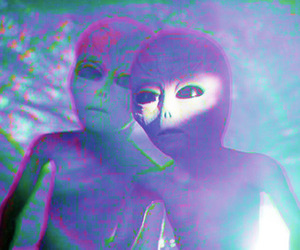 alien and grunge image