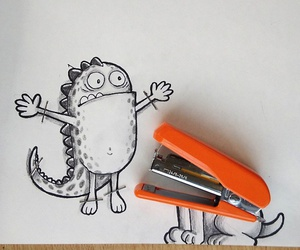 adorable, doodles, and artist's image