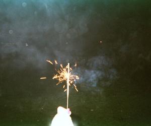 fireworks and grunge image