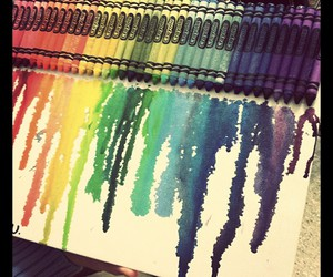 art, colors, and crayola image