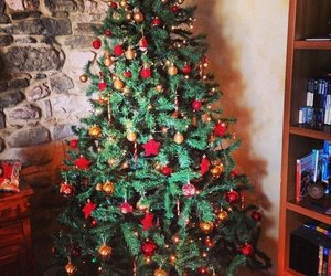 new year, newyear, and christmastree image