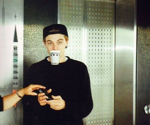 actor, boy, and coffee image