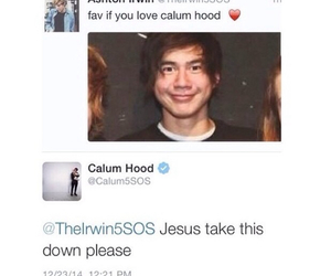 calum, 5 seconds of summer, and 5sos image