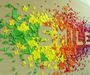 smile and colors image