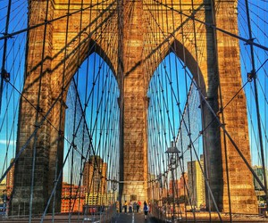 cities, new york, and singing image