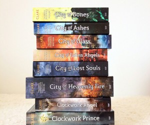 book, cassandra clare, and the mortal instruments image