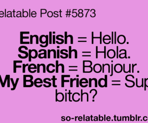 hello, best friends, and funny image