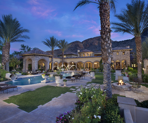 Dream, luxury, and palms image