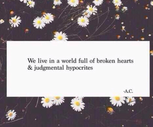 quote, flowers, and world image