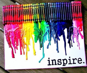 inspire, crayon, and art image