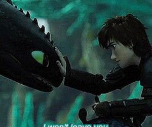 toothless, dragon, and hiccup image