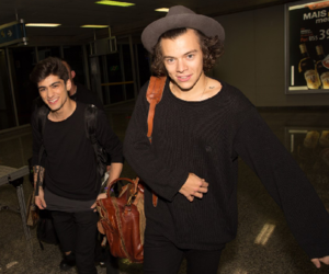 Harry Styles, one direction, and zayn malik image