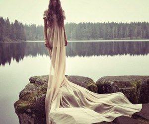 dress, model, and photography image