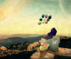 balloons, baloon, and beautiful image