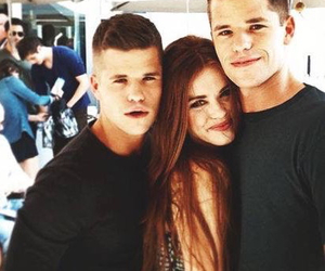 holland roden, max carver, and charlie carver image