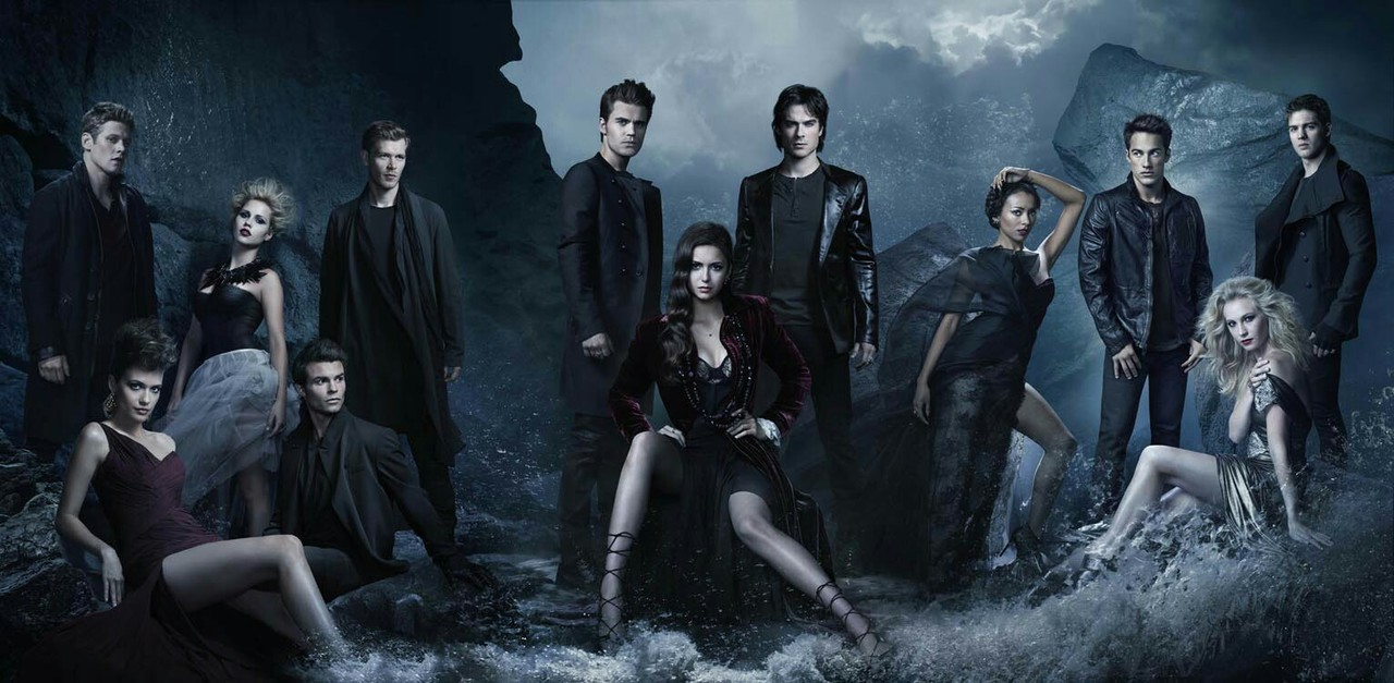 Logo, the vampire diaries, and tvd image