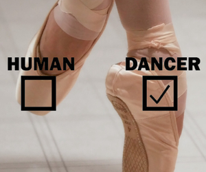 ballet, dancer, and ballet shoes image