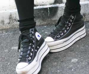 chuck taylors, trainers, and converse image