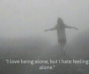 alone, feelings, and girls image