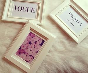 flowers, luxury, and Prada image