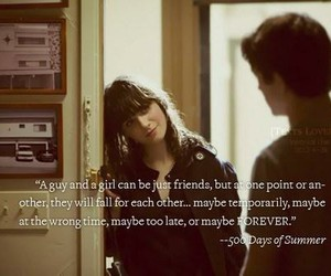 500 Days of Summer, couple, and boy image