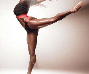 ballerina, ballet, and fitness image