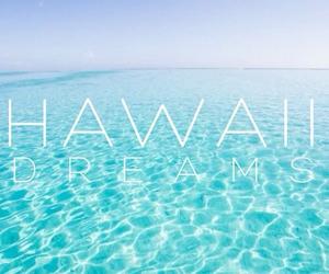 hawaii, summer, and beach image