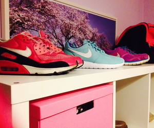 air max, blue, and fall in love image
