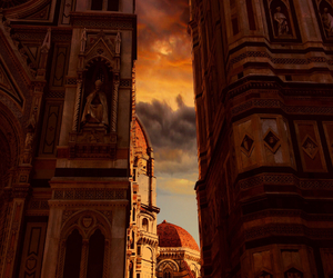 clouds, firenze, and florence image