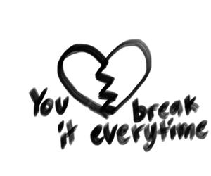again and again, break, and broken image
