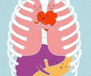 hug, heart, and body image