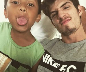 boy, soccer player, and lucas piazon image