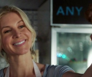 elizabeth mitchell, ice cream, and once upon a time image
