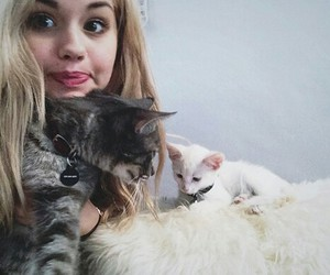 cat and debby ryan image