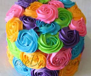 cake, creative, and food image