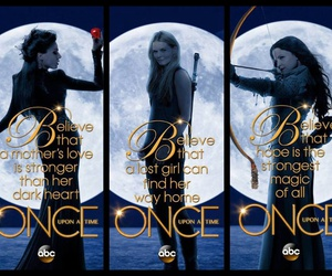 once upon a time, emma, and regina image