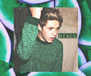 niall, 1d, and green image