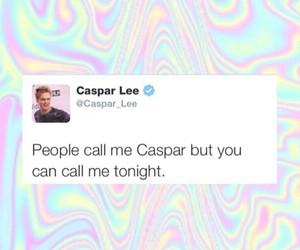 tweet and caspar lee image